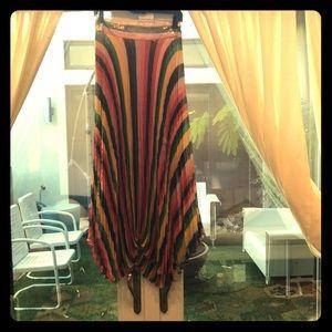 NEW! W/ TAGS Alice + Olivia Rainbow Skirt